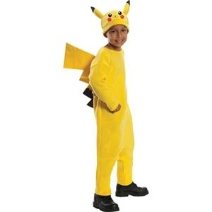 pikachu halloween costume for kids