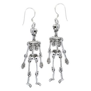 sterling silver halloween earrings