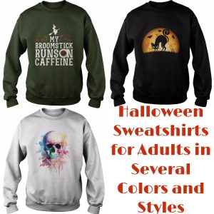 Halloween Sweatshirts for Adults